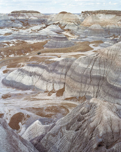 Mitch Epstein, 'Blue Mesa, Petrified Forest National Park, Arizona 2018', 2018