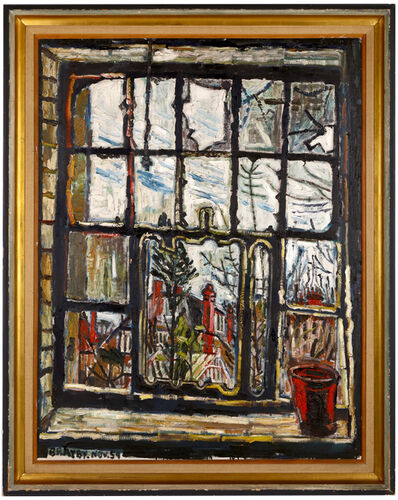 John Bratby, 'Blasted windows', 1959