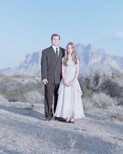 David Magnusson, 'Jim Roberts & Chantal Roberts, 12 years. Apache Junction, Arizona.'