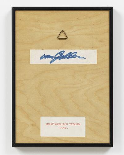 Daan Van Golden, 'Amorphophallus Titanum  (backside)', 1995