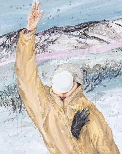 Wang Guan-Jhen, 'Playing with Snow', 2017