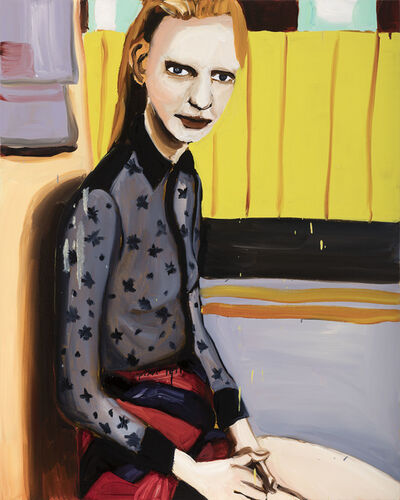 Jenni Hiltunen, 'Woman in Star Blouse', 2017