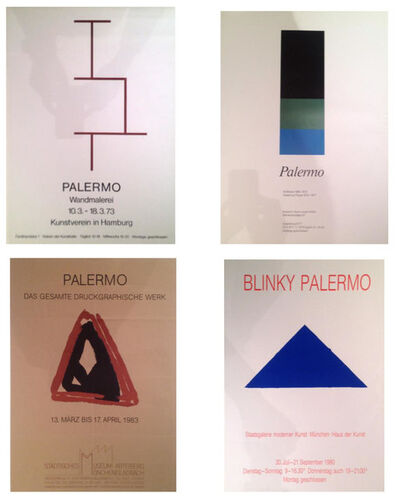 Blinky Palermo, 'Five vintage Exhibition Posters', 1968-1983