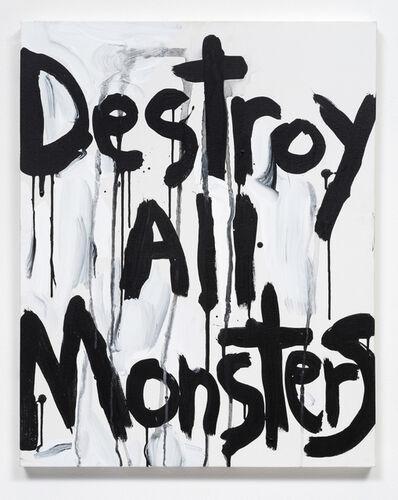Kim Gordon, 'Destroy All Monsters', 2015