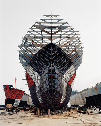 Edward Burtynsky, 'Shipyard #11, Qili Port, Zhejiang Province, China', 2005