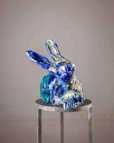 Marina Le Gall, 'Rabbit lying down', 2019