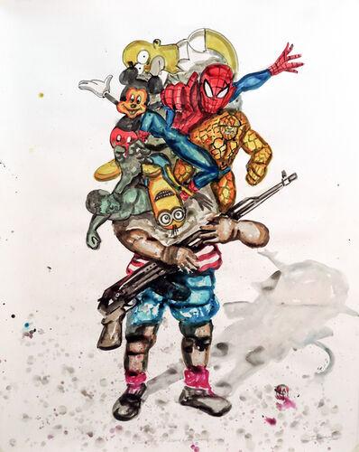 Steve Bandoma, 'Stealing my childhood', 2015