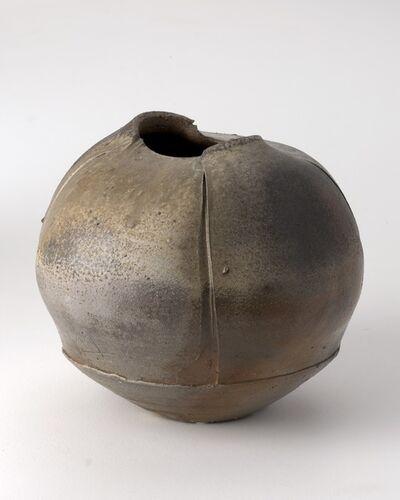 Eric Astoul, 'Vase echancré, ceramic', La Borne, France, 2002