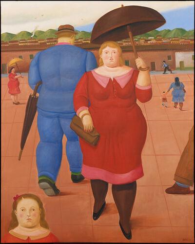 Fernando Botero, 'The Square', 2013