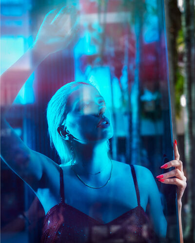 David Drebin, 'Staring into the Blue', 2019