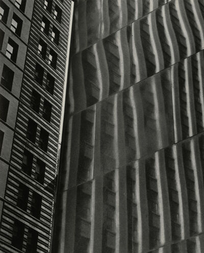 Gita Lenz, 'Building Reflection, Glass & Steel', Circa 1950