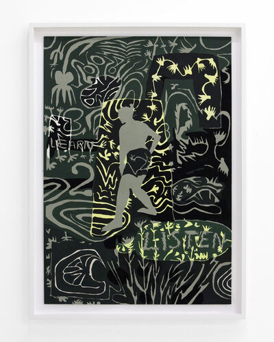 Lena Gustafson, 'Labyrinth (Learn 2 Listen)', 2019