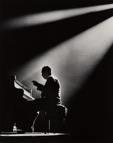 Herman Leonard, 'Duke Ellington, Paris', 1958-printed later