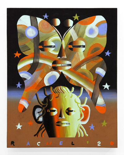 """Rachel Hayden, '""""Big Dazed Moth""""', 2020"""