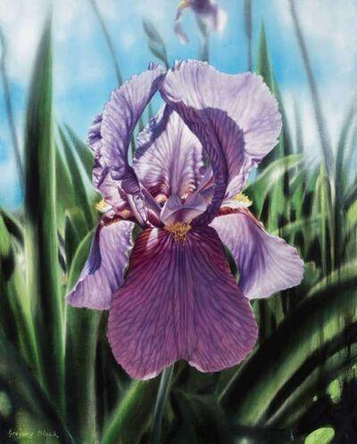 Gregory Block, 'Purple Iris', 2020
