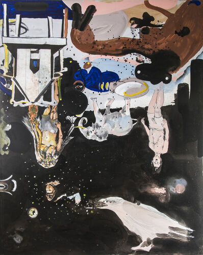 Angelbert Metoyer, 'World Devoured by Crow', 2015