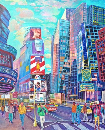 Thelma Appel, 'Times Square V', 2015