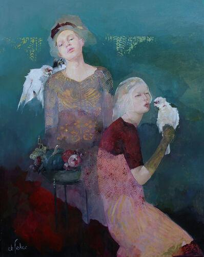 Françoise de Felice, 'Bleu de nuit', 2019