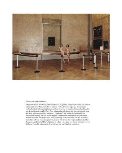 Juergen Teller, 'Nachts und nackt im Louvre', 2009