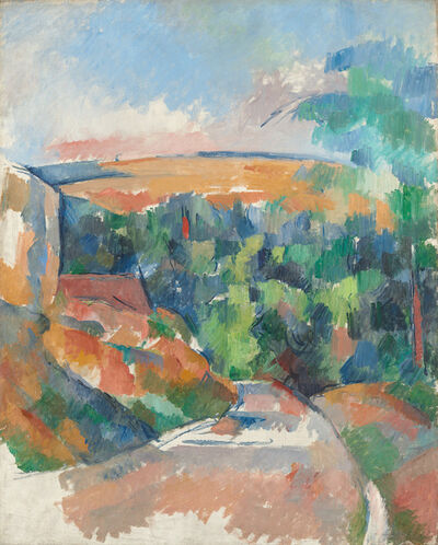 Paul Cézanne, 'The Bend in the Road', 1900/1906