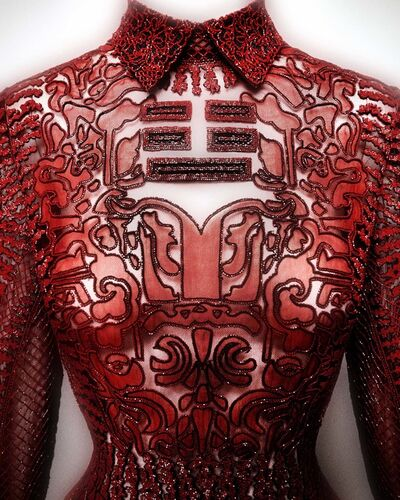 "Valentino S.p.A., 'Evening dress', ""Shanghai"" collection 2013"