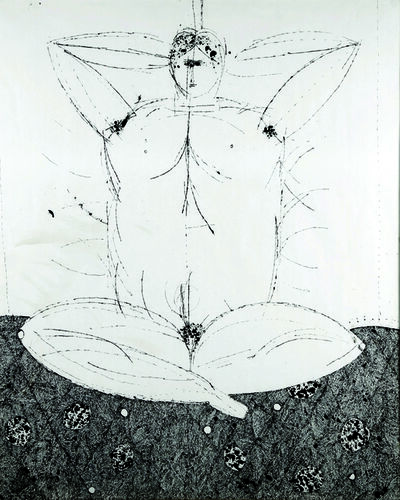 Joseph Glasco, 'Seated Nude', 1975