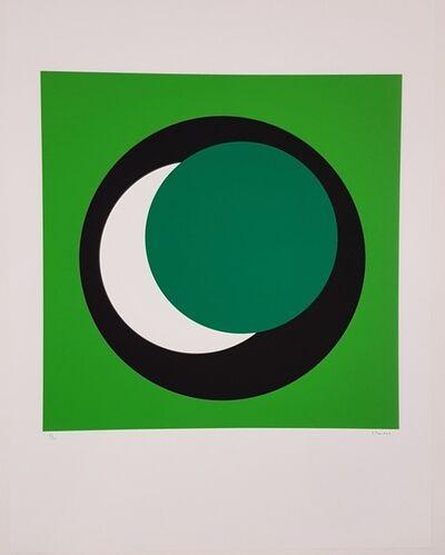 Geneviève Claisse, 'Dark Green Circle (Cercle vert foncé)', 2015