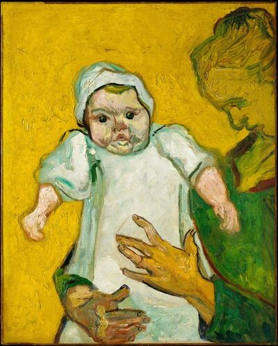 Vincent van Gogh, 'Madame Roulin and Her Baby', 1888