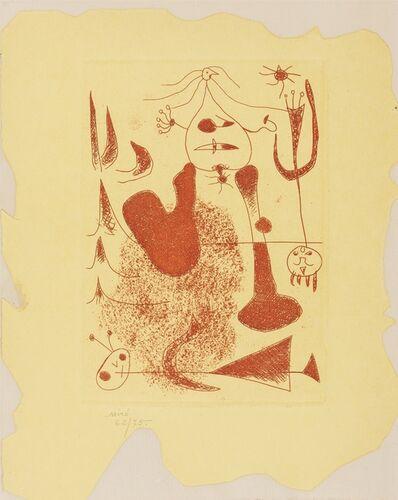 Joan Miró, 'Sablier Couche (Cramer books 5; D.20)', 1938