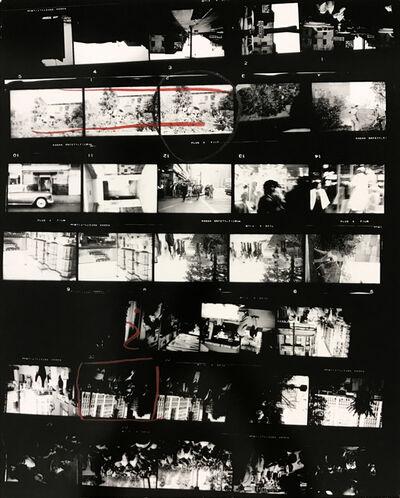 Robert Frank, 'Contact Sheet #38 (Backyard, Venice West, California)', 2009