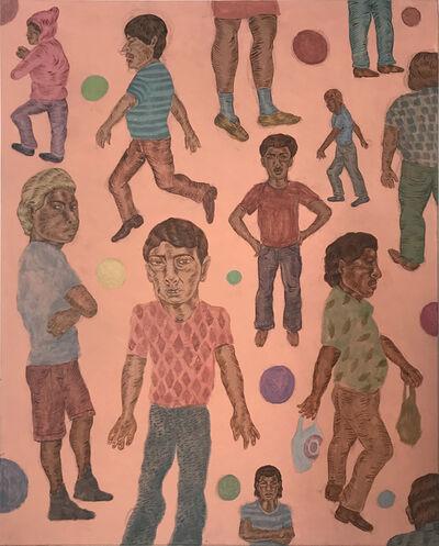 Jose Lozano, 'Bad Hombres Wallpaper Swatch ', 2020