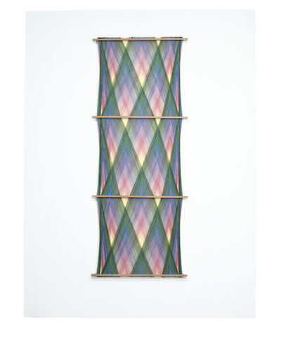 Will Cruickshank, 'Triple Phase Wall Hanging (green-violet-yellow)', 2020