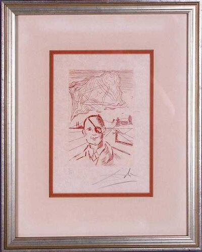 Salvador Dalí, 'Moshe Dayan', 1968