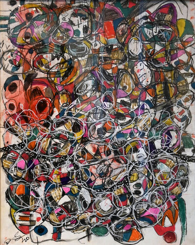 Danny Simmons, 'Caught in the Whirlwind', 2020