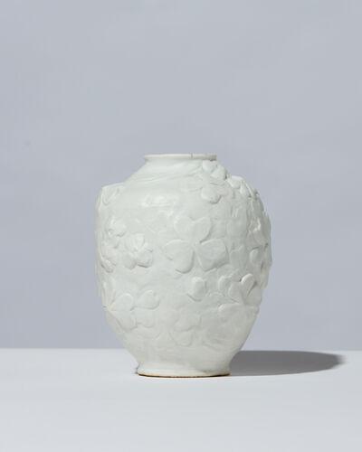 Jean-Michel Cazin, 'Ovoid Bisque Vase', 1906