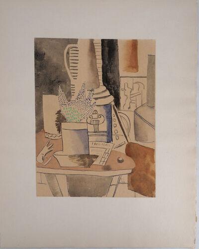 Fernand Léger, 'Nature morte au journal', 1959