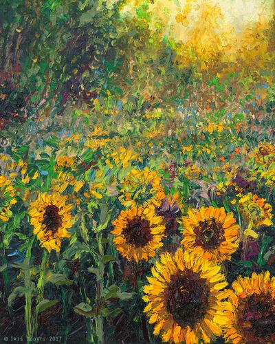 Iris Scott, 'Helios Sunflower (Embellished Artist's Proof)', 2018