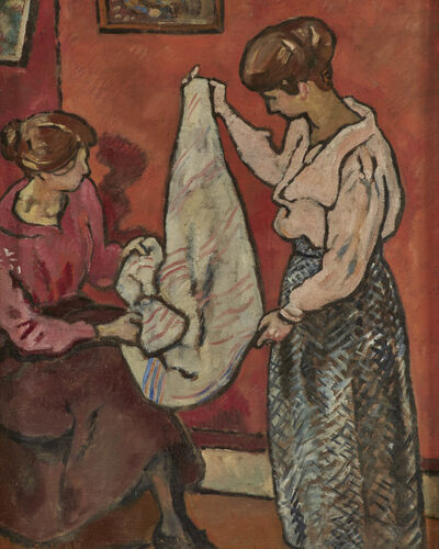 Louis Valtat, 'Les Couturieres (The Dressmakers)', 1918