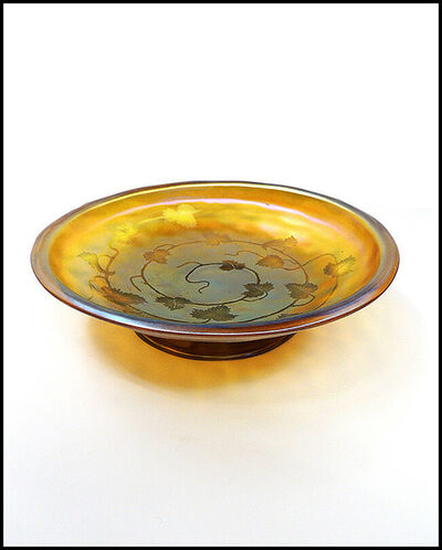 Louis Comfort Tiffany, 'L.C. Tiffany Original Favrile Glass Compote ', 20th Century