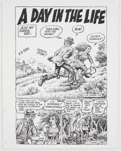 R. Crumb, 'Self-Loathing Comics #1: A Day in the Life', 1994