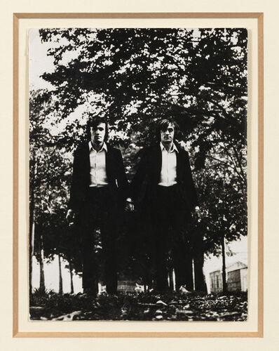 Alighiero Boetti, 'Gemelli (Twins)', 1968