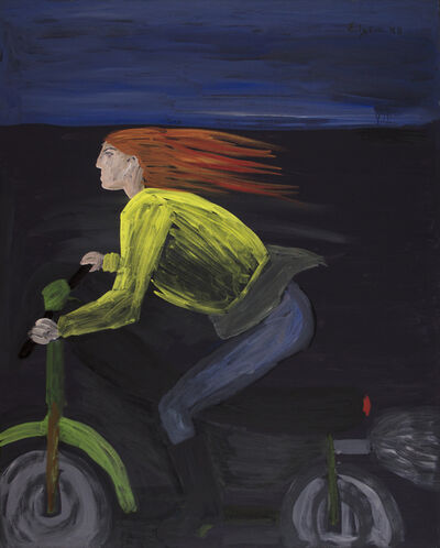 Celia Daskopoulou, 'Untitled (Woman with Motorcycle)', 1988