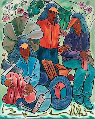 John Bankston, 'Three Flowers', 2013