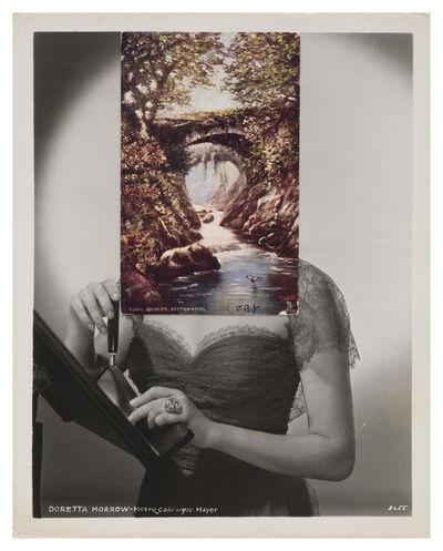 John Stezaker, 'Mask (Film Portrait Collage) CLXXXIV', 2015