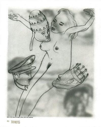 Pat Andrea, 'Klinger suite (01 Foreplay)', 2012