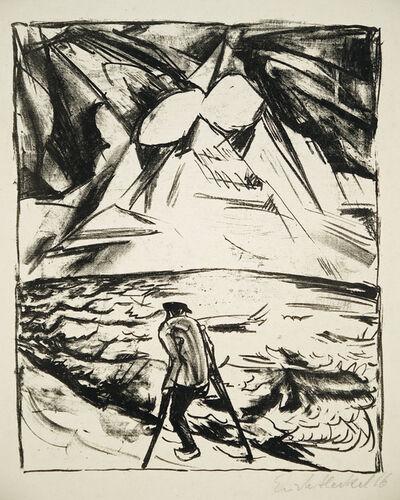 Erich Heckel, 'Krüppel am Meer', 1916