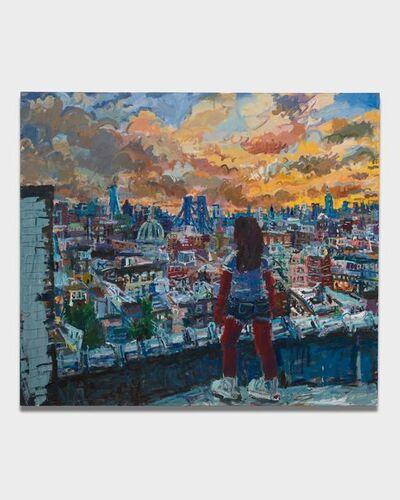 Todd Bienvenu, 'Brooklyn in the Front, Manhattan in Back', 2018