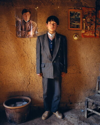 Jiang Jian 姜健, 'Zhao Weidong, 16 year-old, at Yugong Village, Wangwu Township of Jiyuan County', 1997