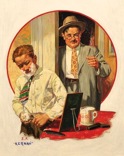 Joseph Francis Kernan, 'The First Shave', 1934