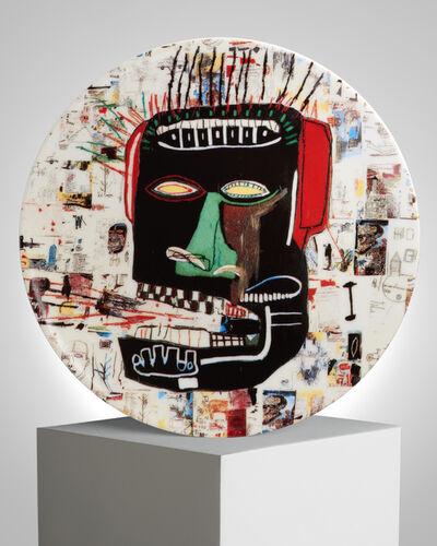 "Jean-Michel Basquiat, '""Glenn"" Porcelain Plate', ca. 2019"